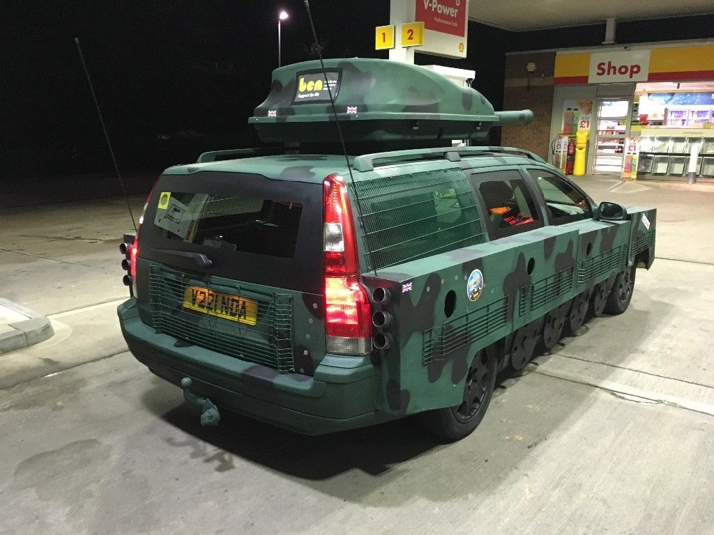 UPDATE: Volvo V70 Tank Conversion Better Have a Damn Good Explanation - autoevolution