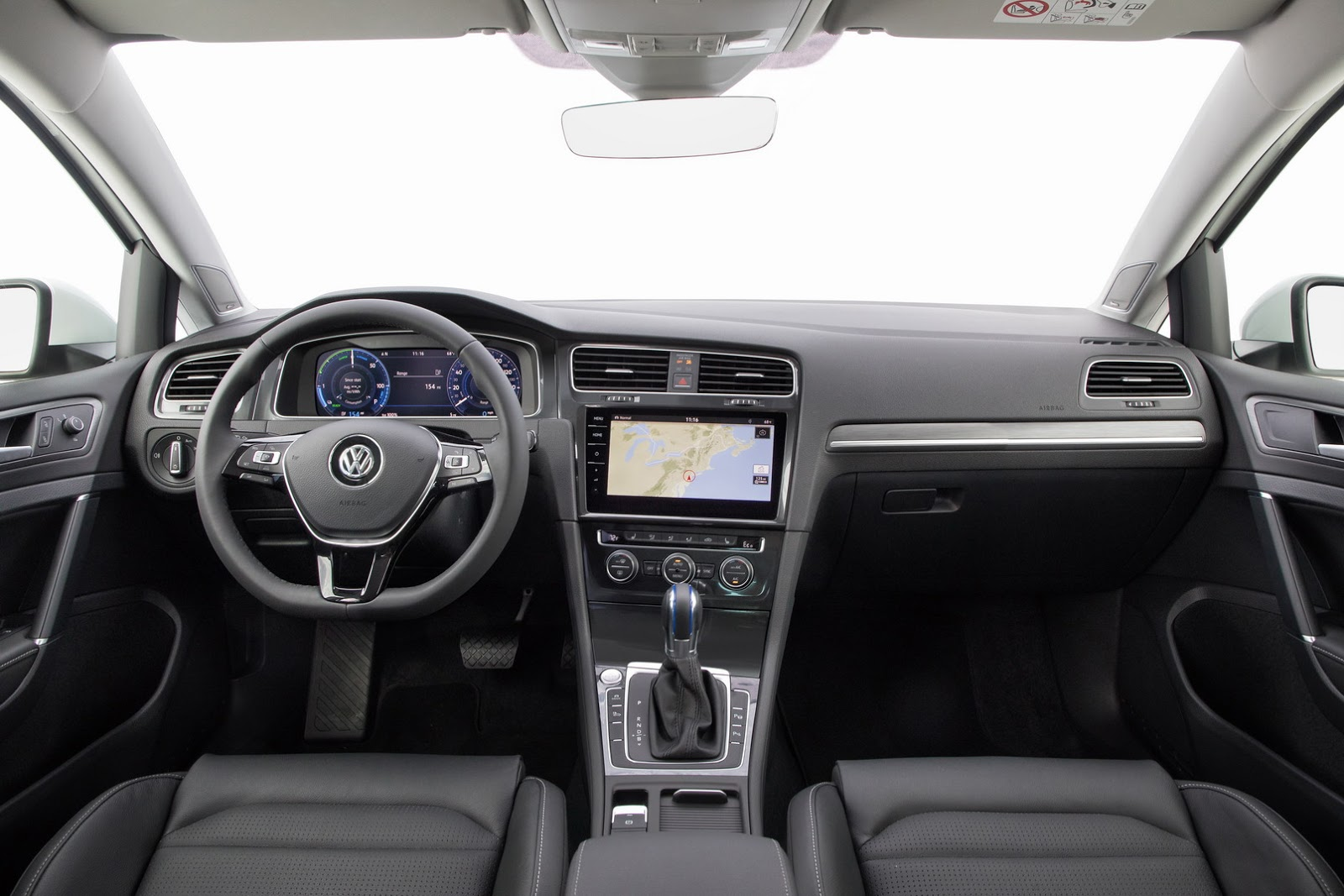 Auto cockpit vw  Updated 2018 VW Golf Debuts With LED Lights, Digital Cockpit in ...