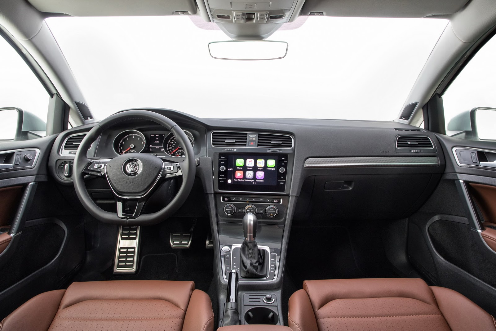 Updated 2018 VW Golf Debuts With LED Lights, Digital Cockpit in New York - autoevolution