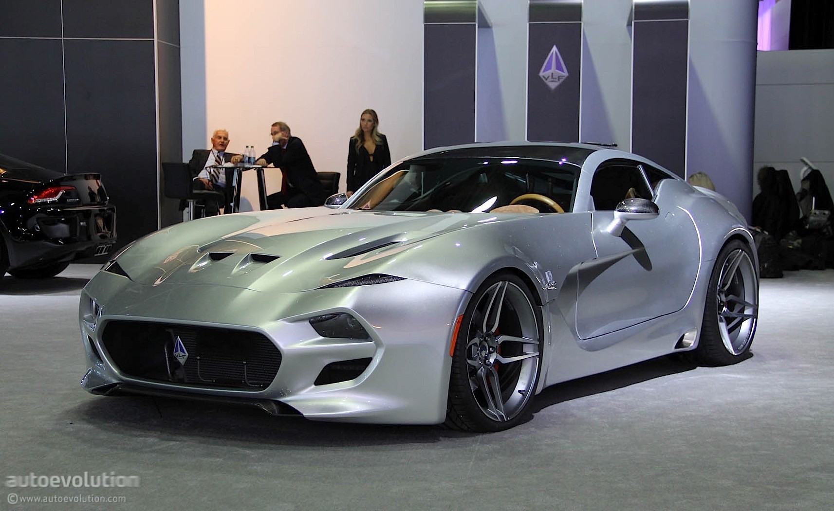 Pebble Beach Car Show >> Updated: Fisker's VLF Force 1 Arrives in Detroit, Doesn't Look like an Aston Martin - autoevolution