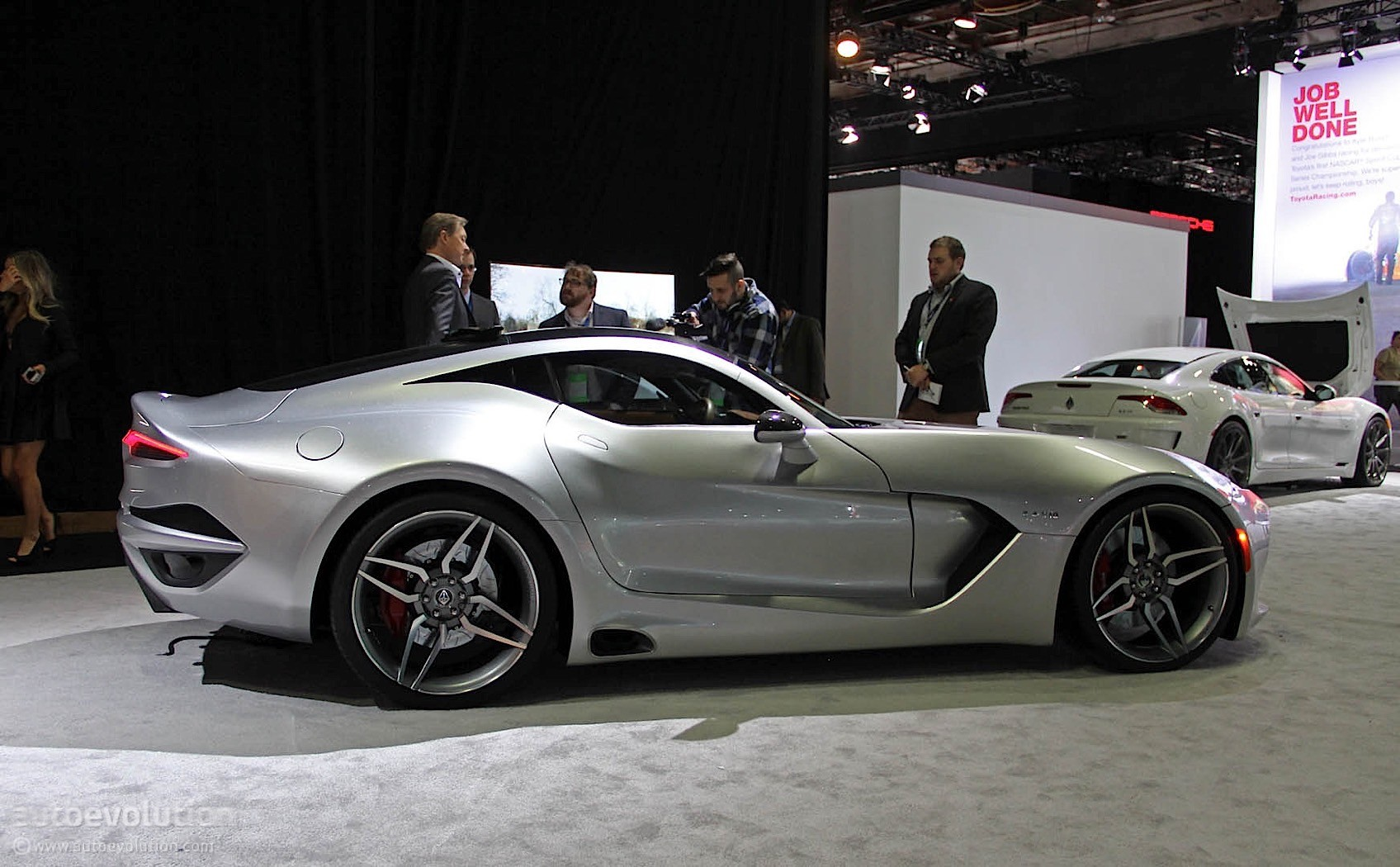 Updated Fisker S Vlf Force 1 Arrives In Detroit Doesn T