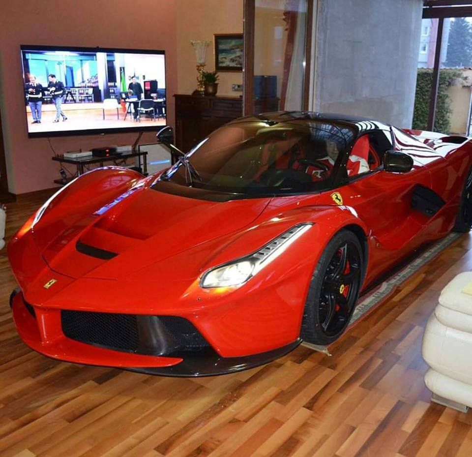 Updated: LaFerrari Owner Keeps His Car In The Living Room