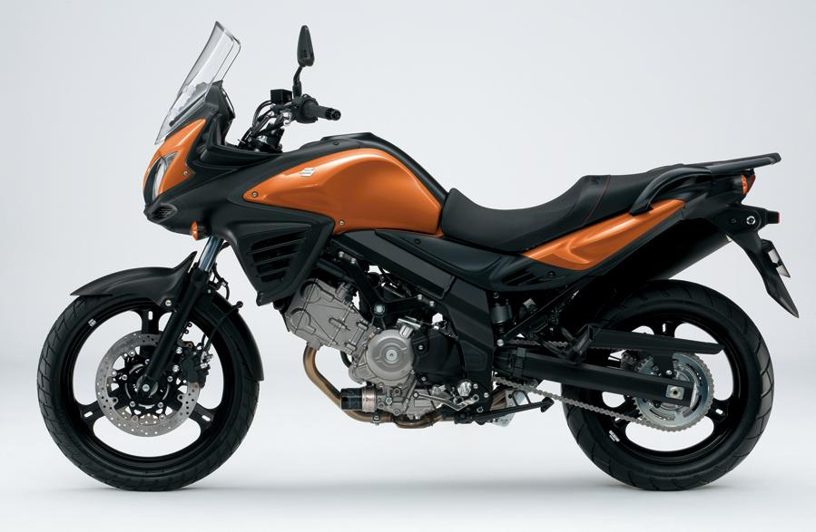 redesigned 2012 v-strom 650 is suzuki's new middle-class