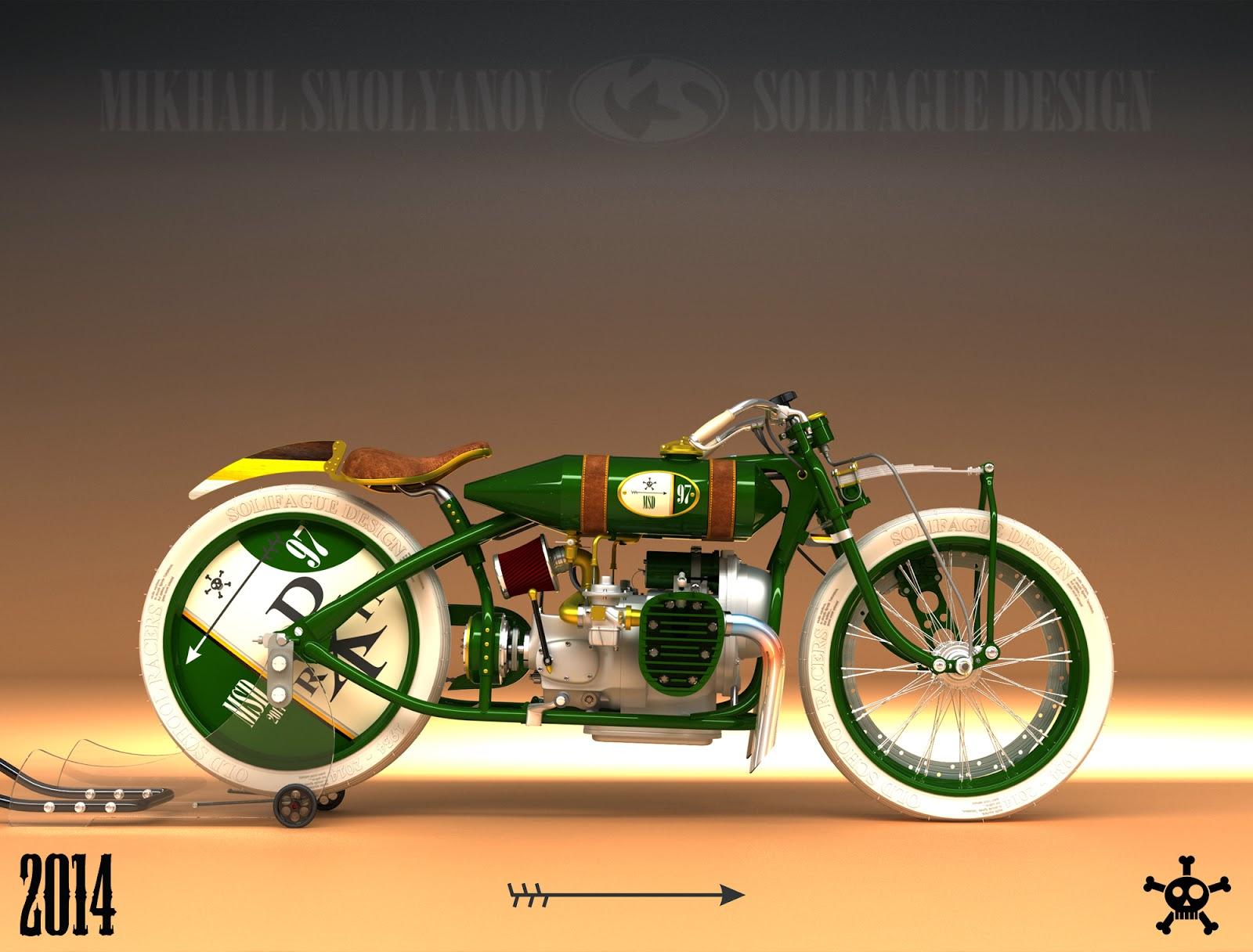 Electric Scooter Bike >> Ural K750-Based Tracker Looks Amazing - autoevolution