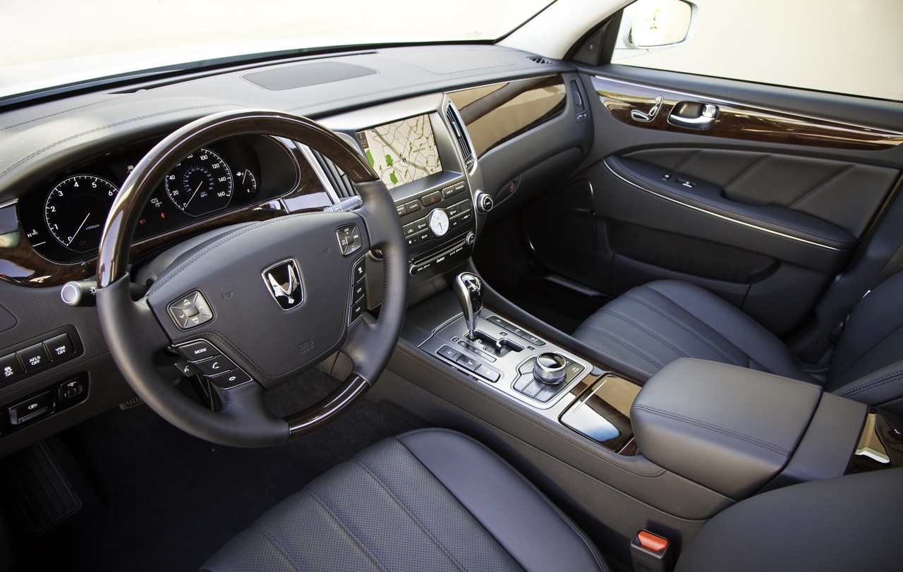 Us Spec 2011 Hyundai Equus Photos And Specifications