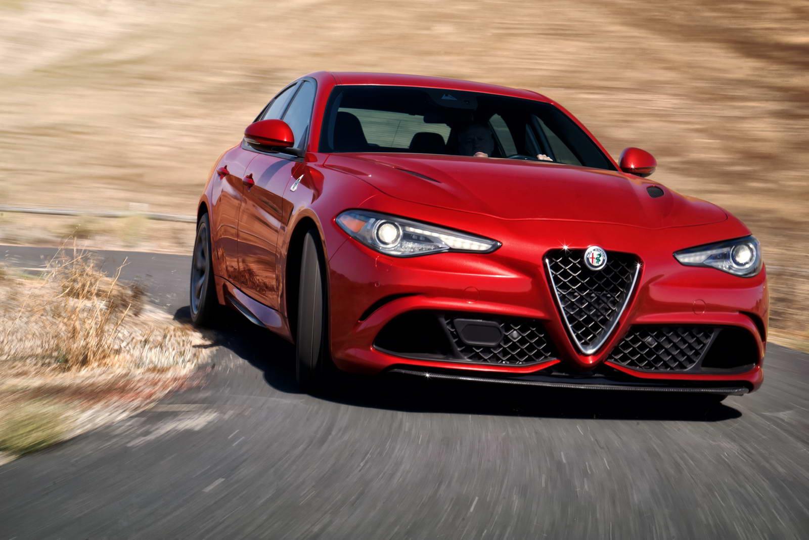 US-Spec 2017 Alfa Romeo Giulia Will Get 2L Turbo With 276