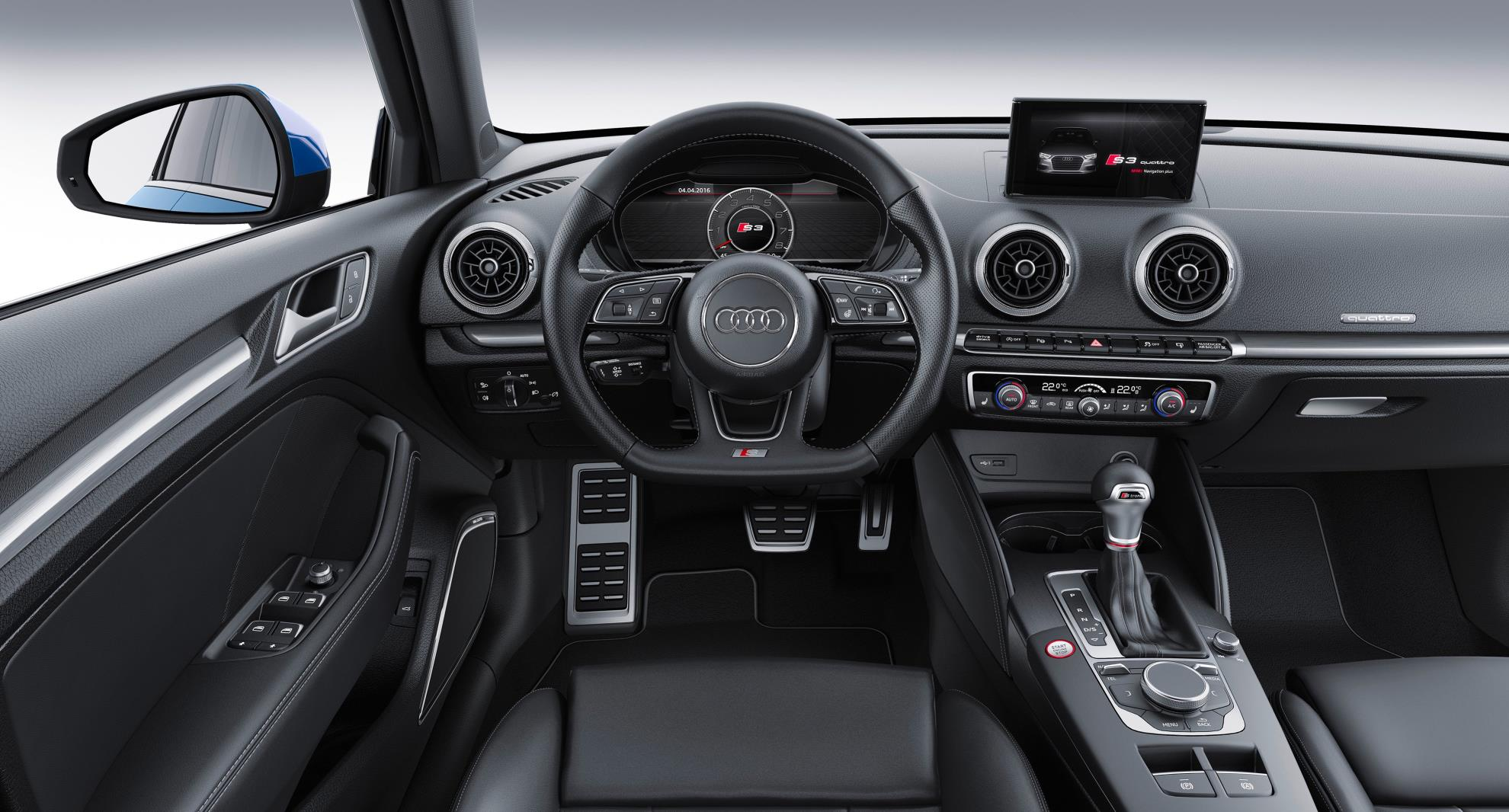 us-spec 2017 audi a3 and s3 facelift revealed with virtual cockpit