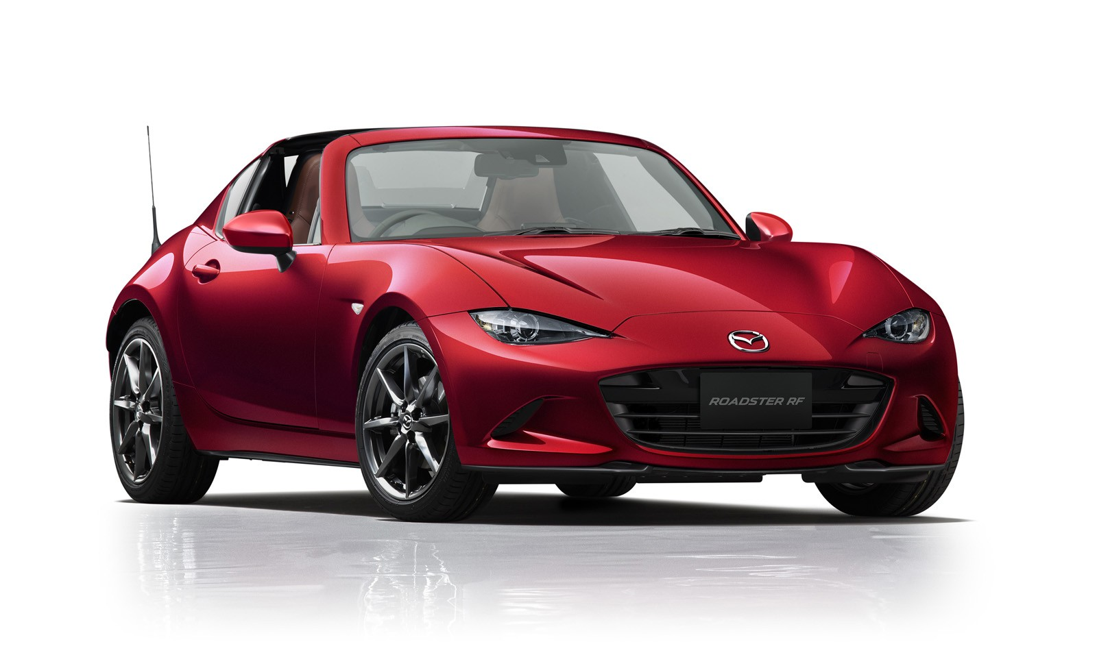 Mazda MX-5 Gets Dark Red Soft Top Option