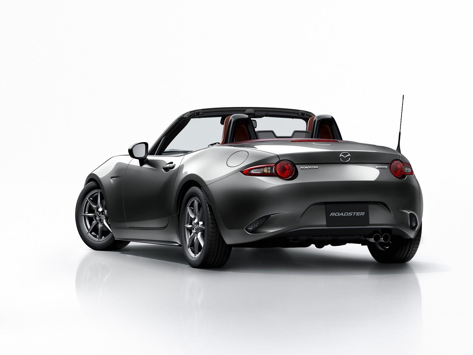 Mazda MX-5 Gets Dark Red Soft Top Option