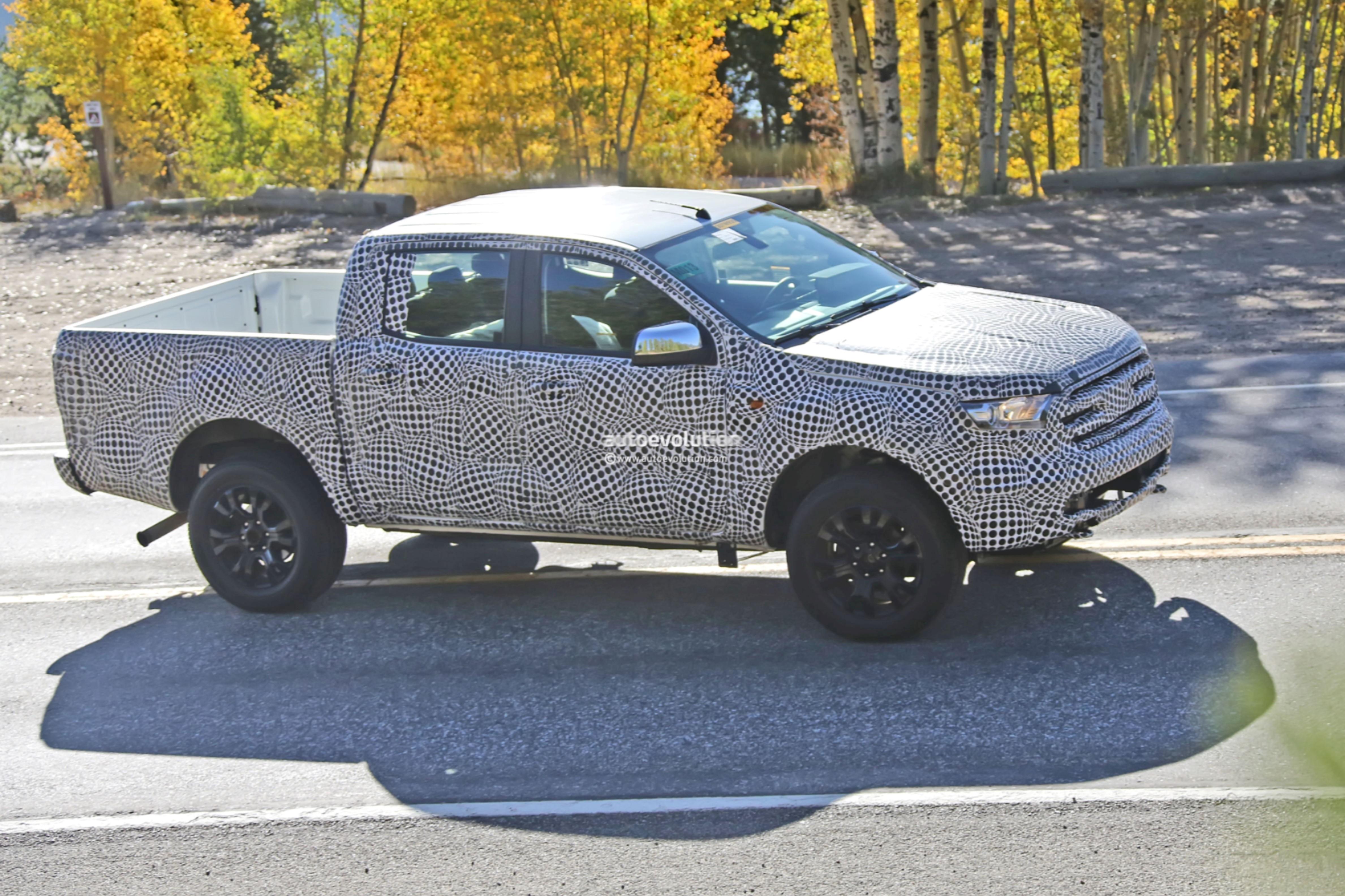 2019 ford ranger fx4 prototype