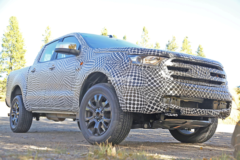Spyshots: 2019 Ford Ranger Pickup (U.S.-spec) Poses With ...