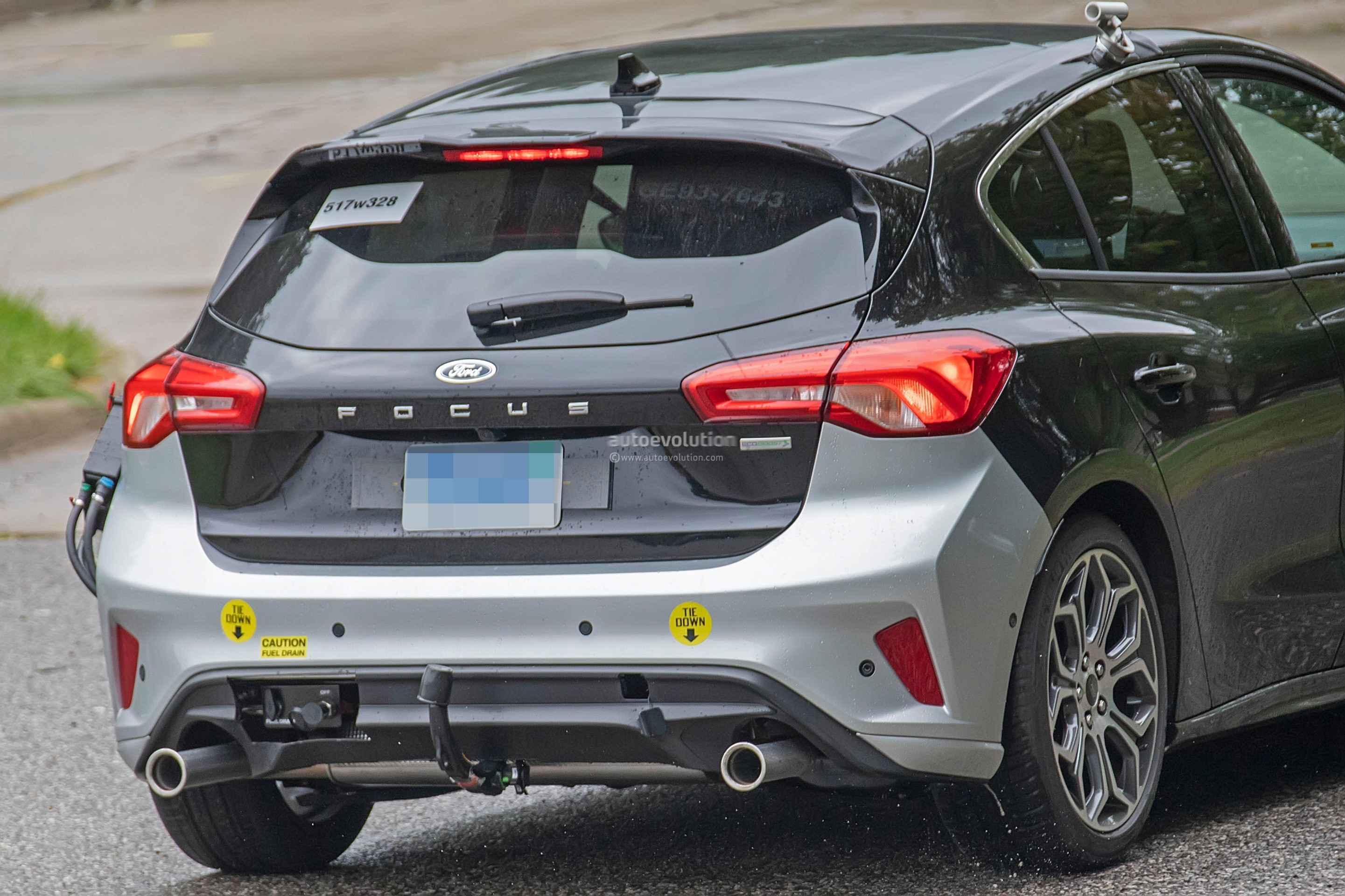 Next-Gen Ford Focus ST Spied Nearly Naked At The Nürburgring
