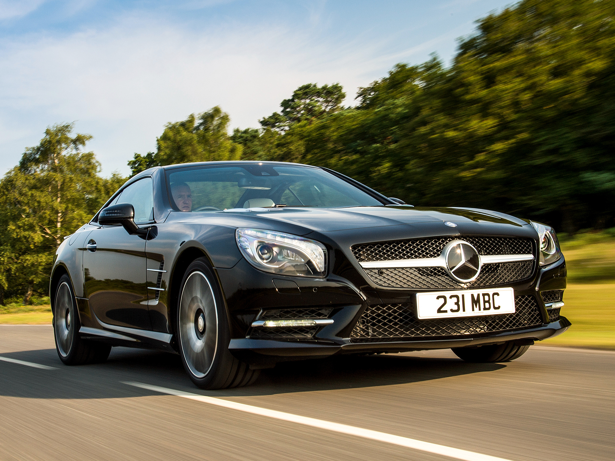 Us spec mercedes benz sl 400 coming with 329 hp 27 mpg for Mercedes benz mpg
