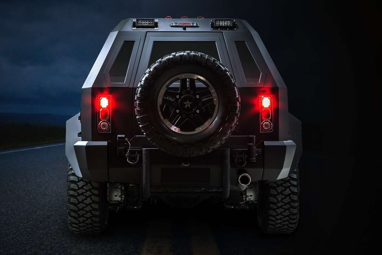 US Specialty Vehicles Rhino GX Sport Is a Bigger-than-Full ...