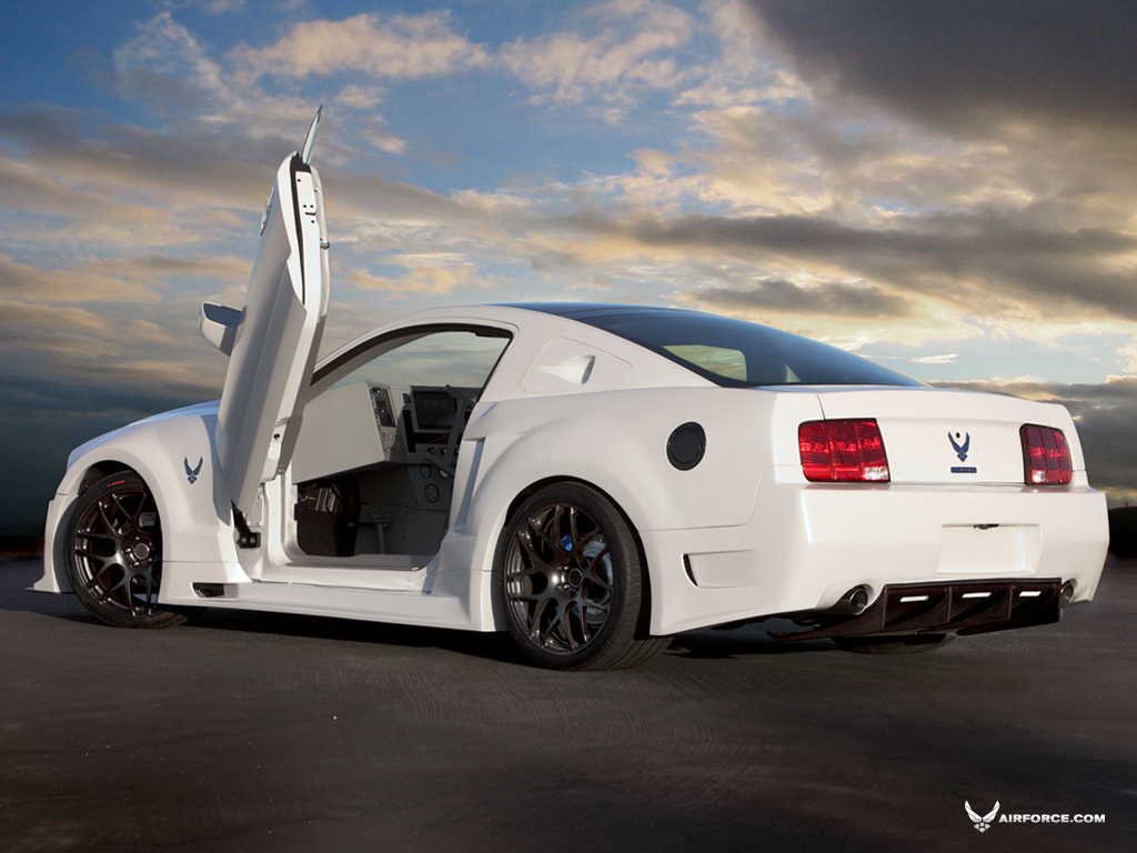 Usaf S Project Supercar Mustang Dodge Vapor Full Gallery