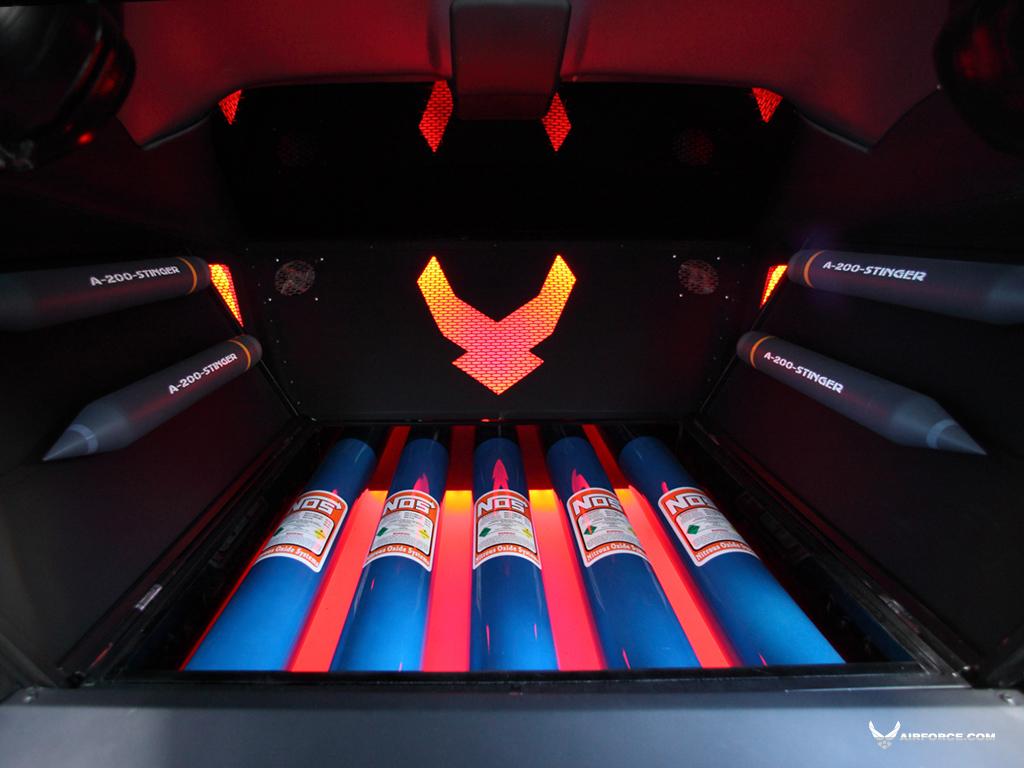 USAF's Project Supercar: Mustang X1, Dodge Vapor Full ...