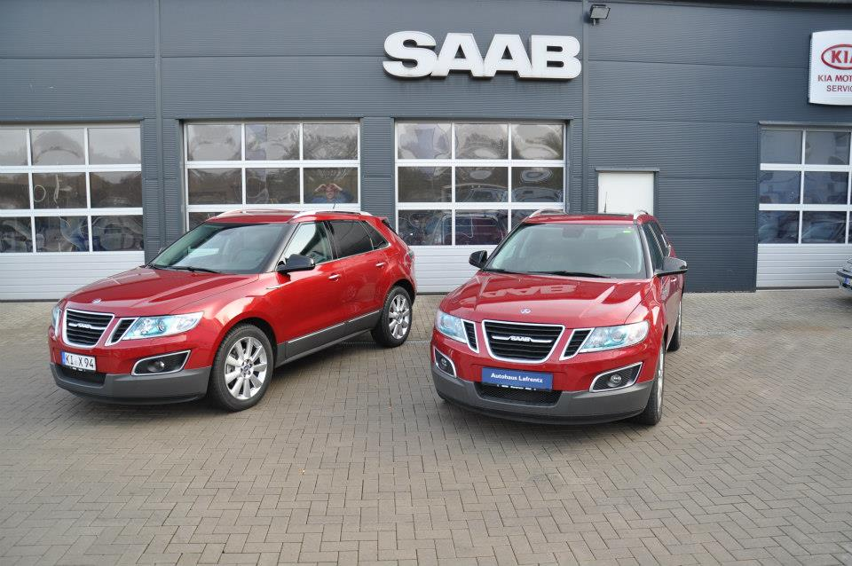 used saab 9 4x fleet discovered for sale in germany autoevolution. Black Bedroom Furniture Sets. Home Design Ideas