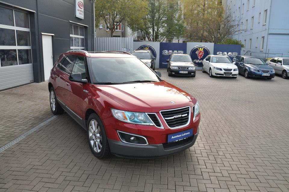 Used Saab 9-4X Fleet Discovered For Sale In Germany