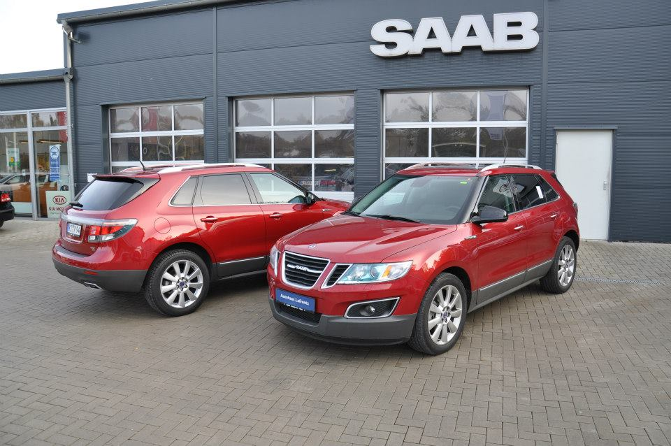used saab 9 4x fleet discovered for sale in germany   autoevolution