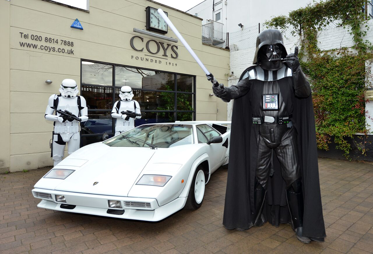 Using Darth Vader And Storm Troopers To Sell 1984