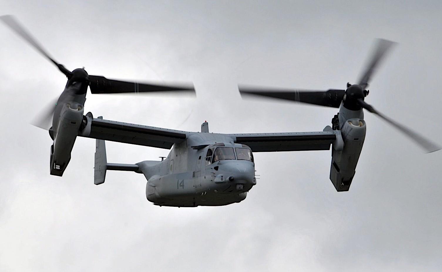 V-22 Osprey Tiltrotor Aircraft Reaches 600,000 Flight-Hours Milestone -  autoevolution