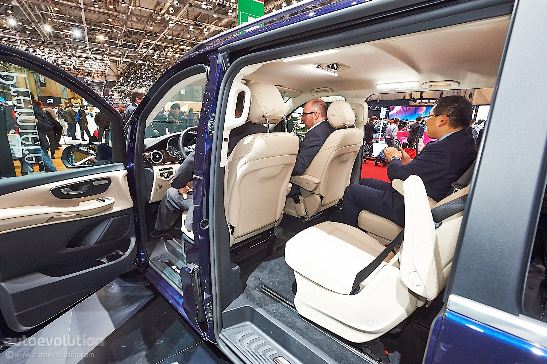 V-Class Luxury MPV Brings Its Huge Behind in Geneva ...