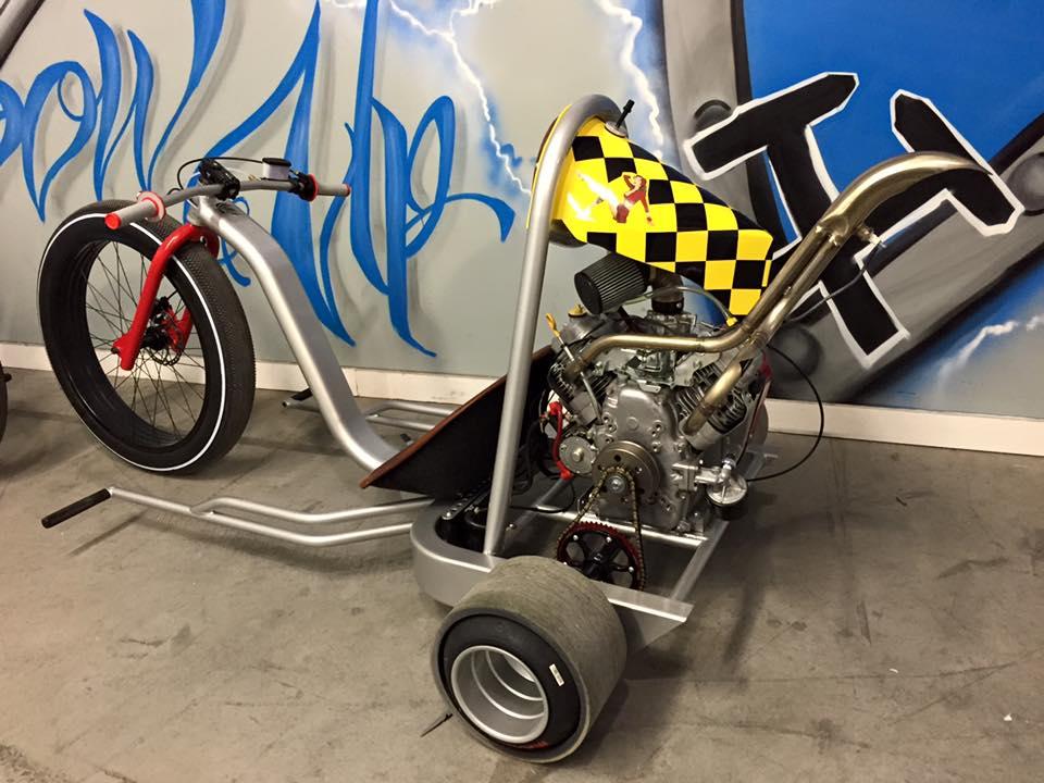 V-Twin-Powered Drift Trike Looks Glorious, Sounds Even Better
