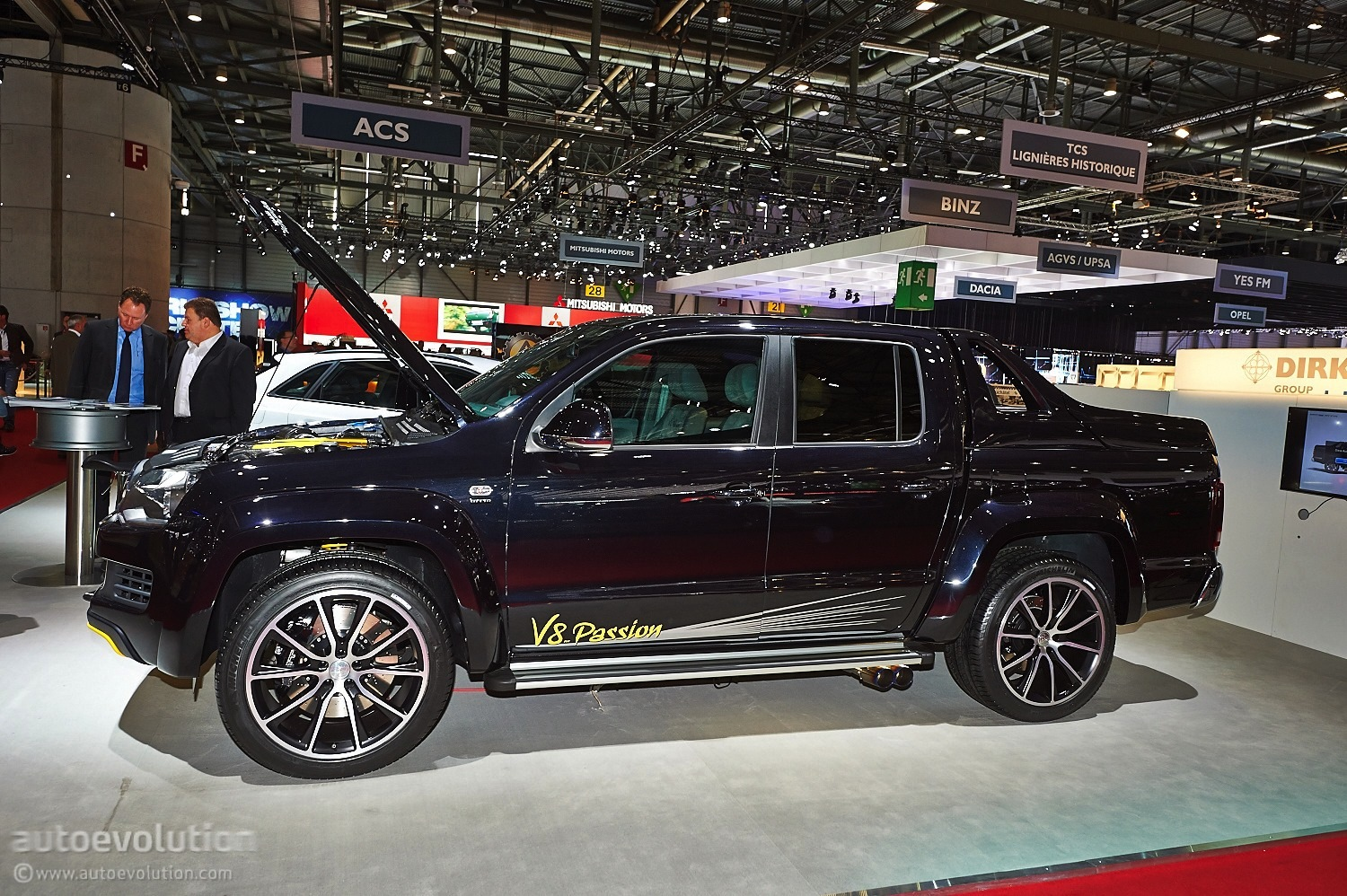 V8 Amarok from MTM Hits Geneva [Live Photos] - autoevolution