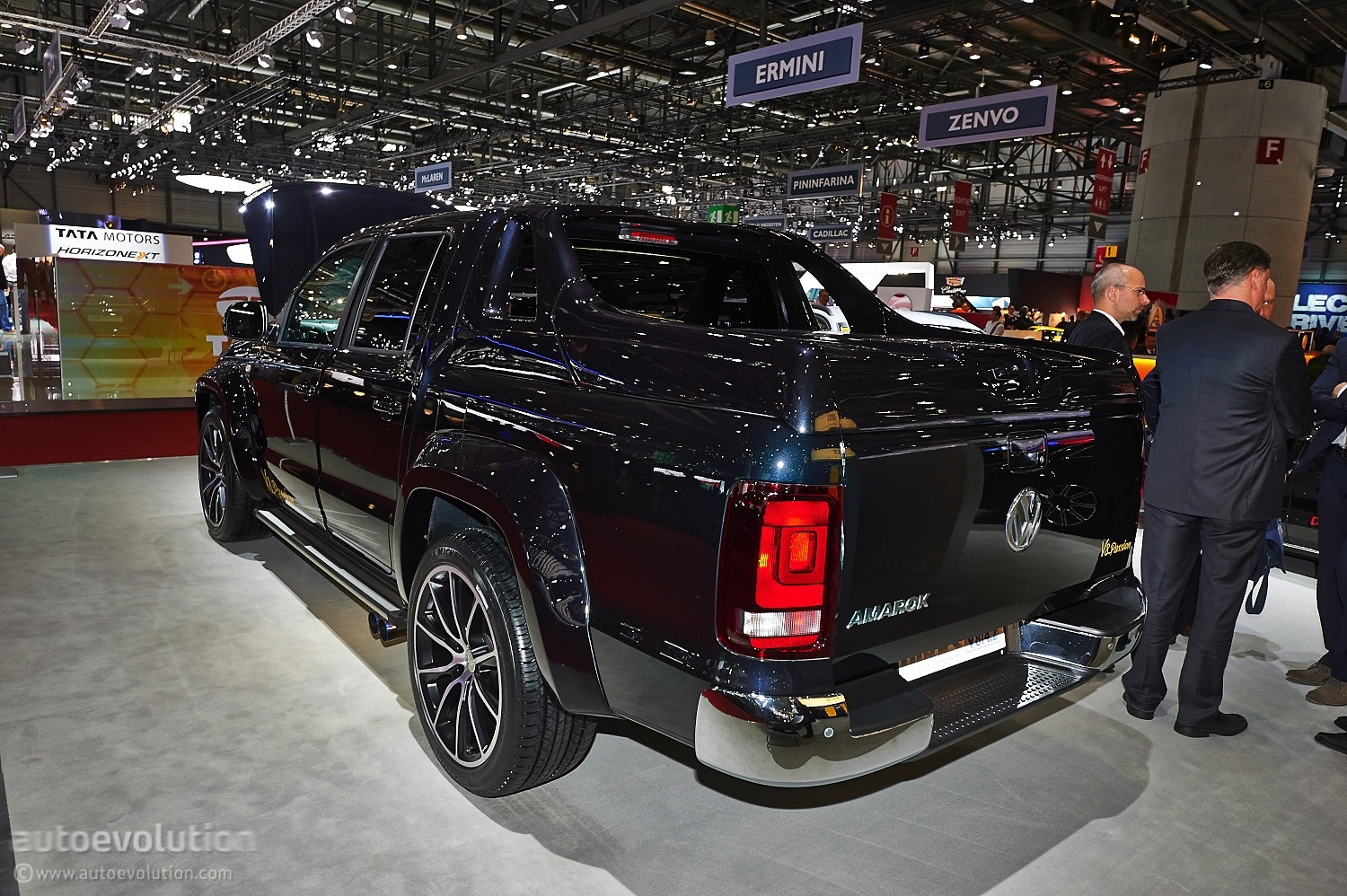 v8 amarok from mtm hits geneva  live photos