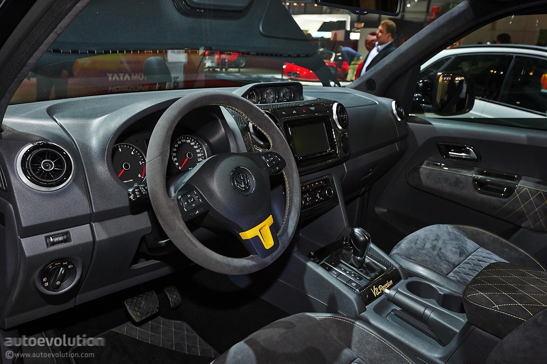 V8 Amarok From Mtm Hits Geneva Live Photos Autoevolution