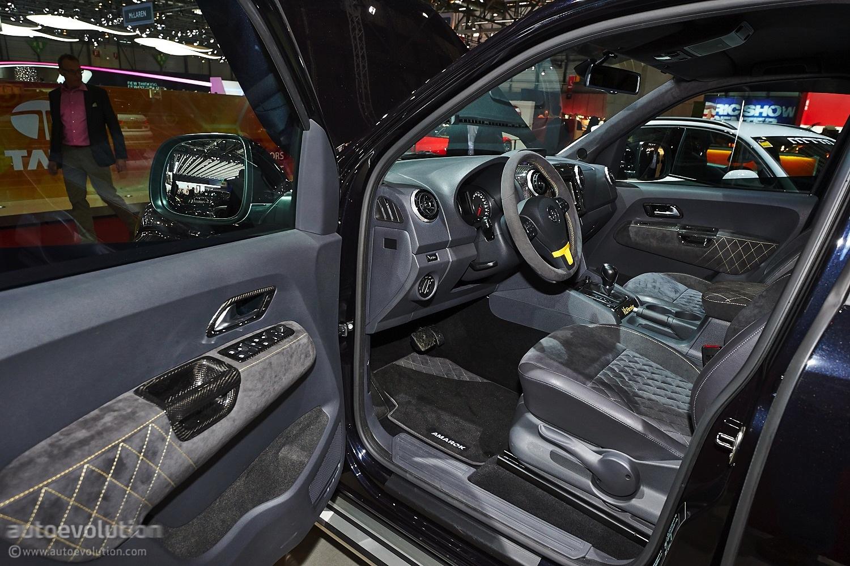 V8 Amarok from MTM Hits Geneva [Live Photos] - autoevolution
