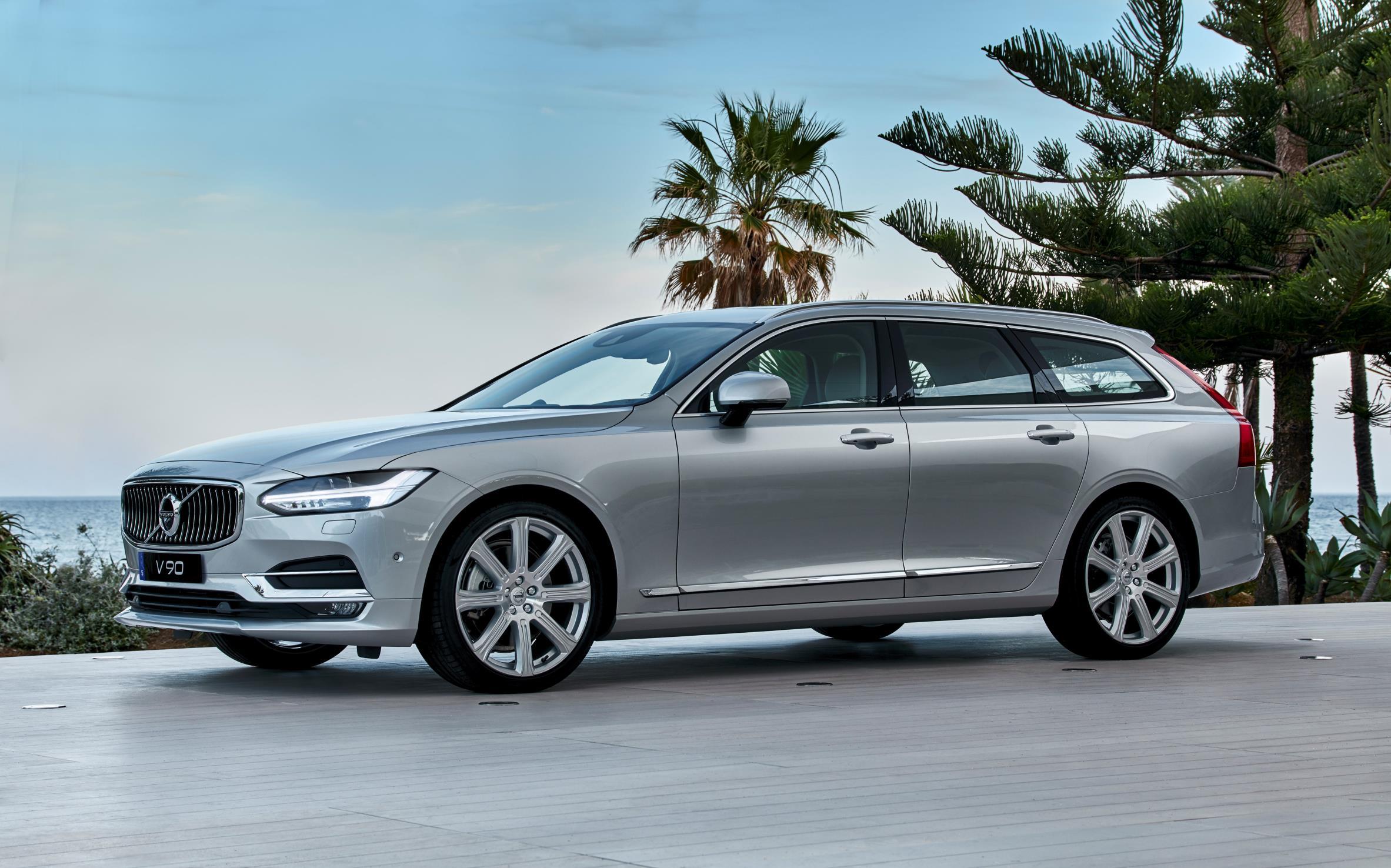2017 Volvo V90 Starts Production 2018 Volvo Xc60 To Be