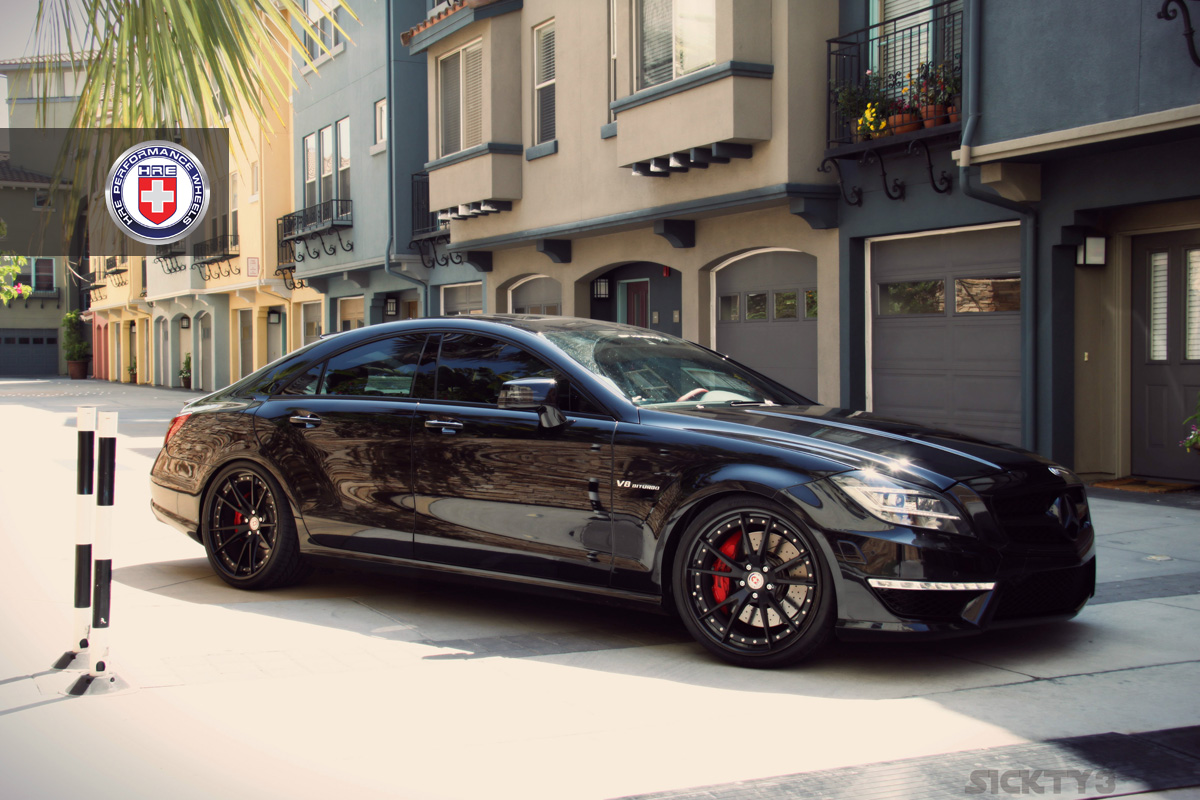 Vader S Helmet Like Black Cls63 Amg On Black Hre Wheels