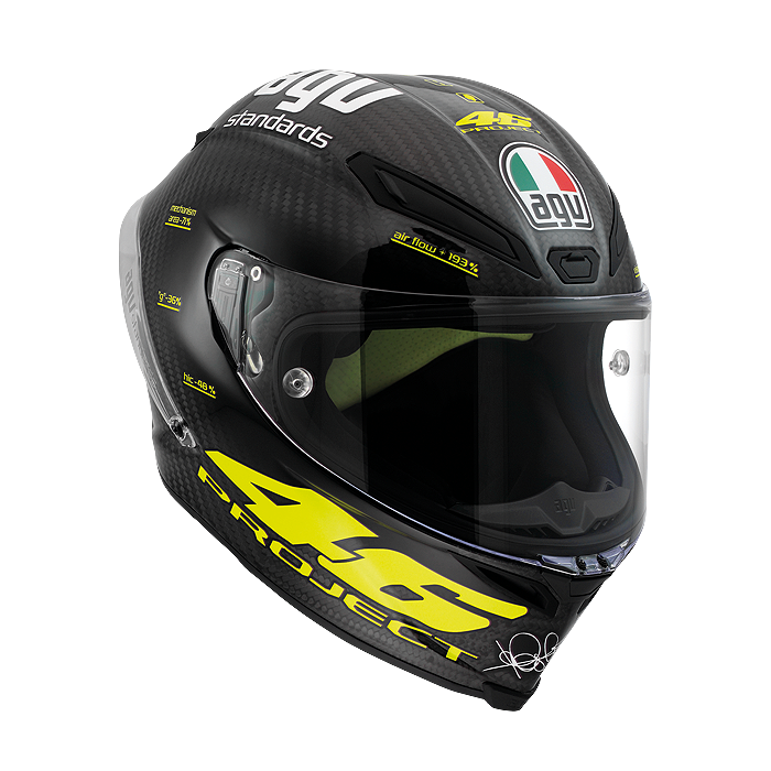 valentino rossi agv pista gp replica helmet available. Black Bedroom Furniture Sets. Home Design Ideas