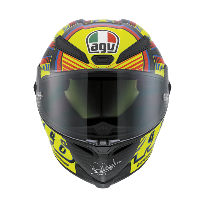Bell Racing Helmets >> Valentino Rossi AGV Pista GP Replica Helmet Available - autoevolution