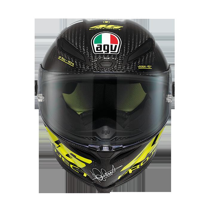 valentino rossi agv pista gp replica helmet available autoevolution. Black Bedroom Furniture Sets. Home Design Ideas