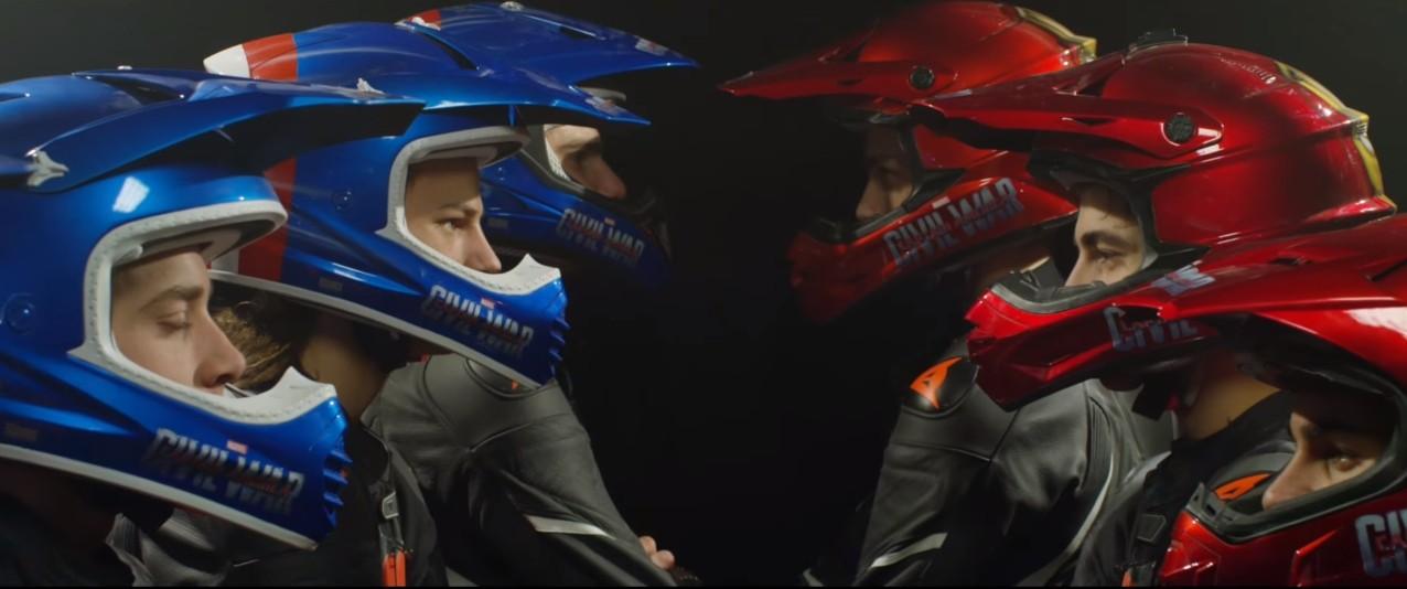Valentino Rossi Involved In The Captain America Vs Iron