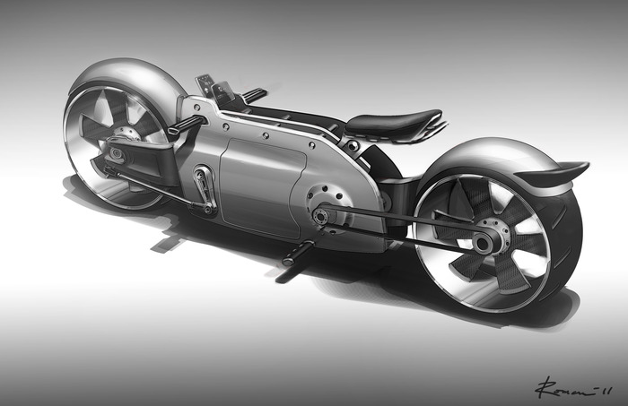 Ford Build Your Own >> Valetta, the Customizable Electric Motorcycle Prototype - autoevolution