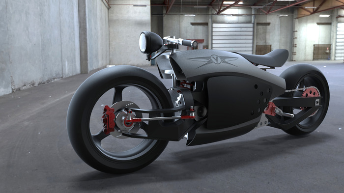 Valetta, the Customizable Electric Motorcycle Prototype ...