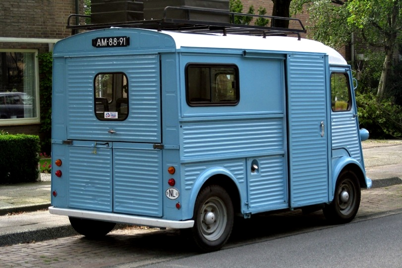Vans Used to Be Cool - Citroen HY Camionette - autoevolution
