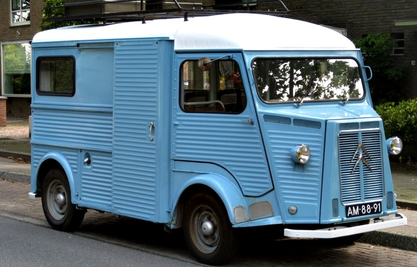 What Is Sedan Car >> Vans Used to Be Cool - Citroen HY Camionette - autoevolution