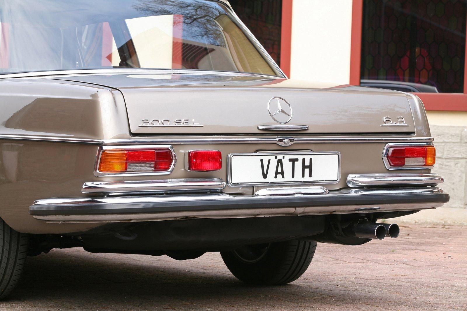vath restores mercedes-benz 300 sel 6 3