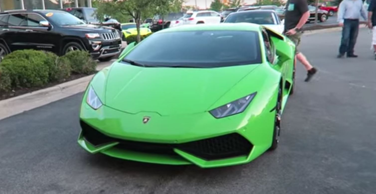 Vehicle Virgins Guy Buys Lamborghini Huracan At 22