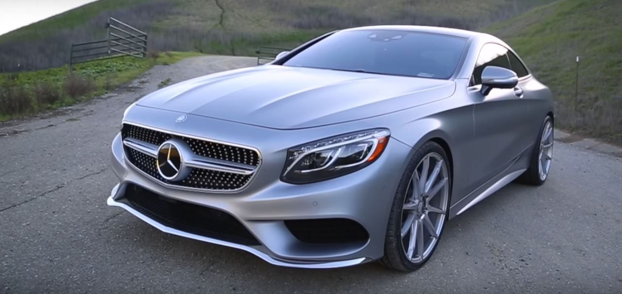 Vehicle Virgins Guy Slams Mercedes S550 Coupe: Side Air