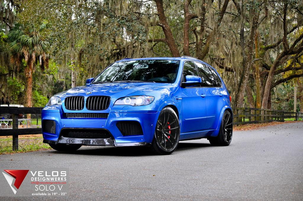 Velos Designwerks New Bmw X5m Is Blue Autoevolution