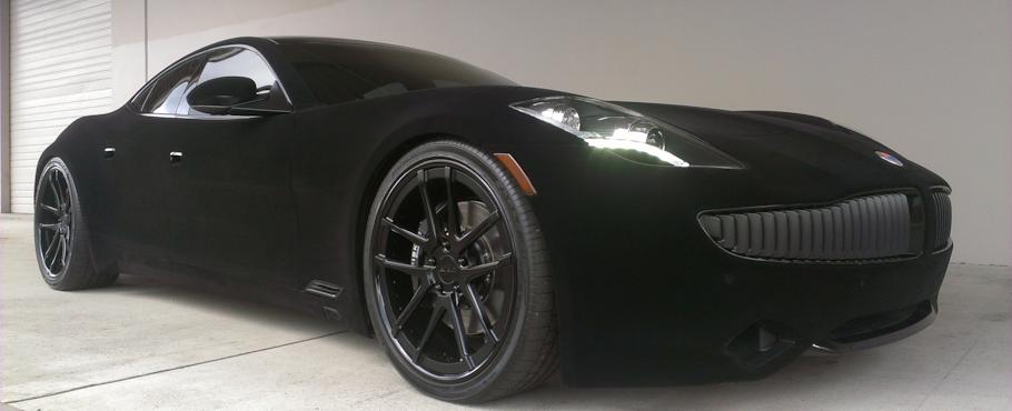 Black Velvet Car Paint