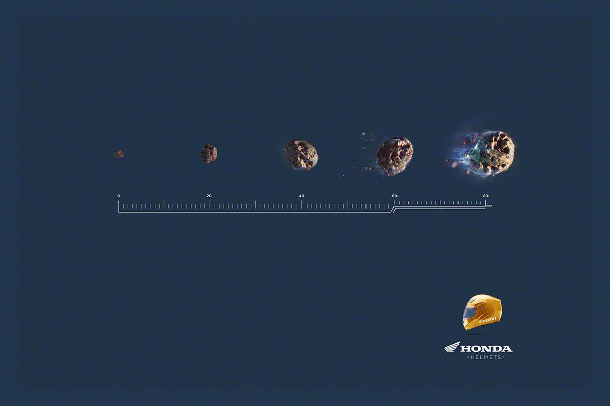 Very Cool Ads For Honda Helmets Autoevolution