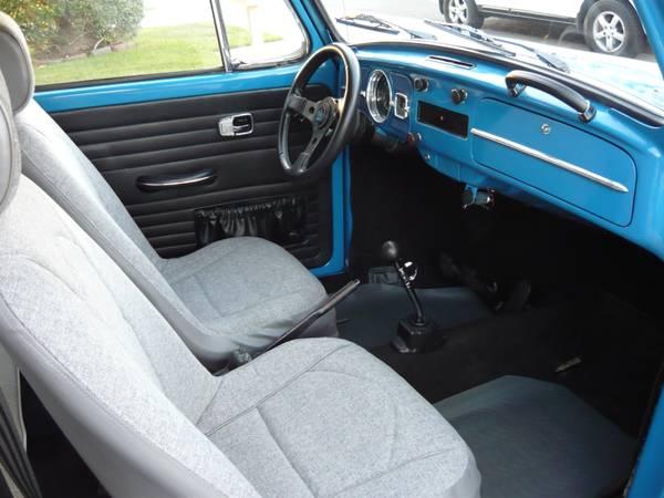 category empi cargo interior well parts carpet bug kit mofoco rear vw beetle