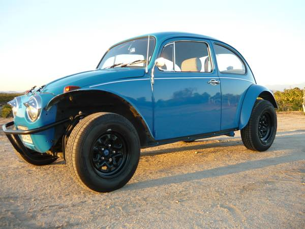 Very Tidy VW Baja Bug Waiting for You and Summer Days ...
