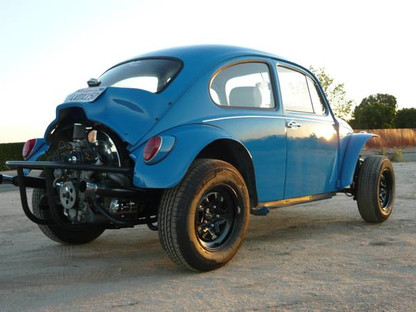 Very Tidy Vw Baja Bug Waiting For You And Summer Days